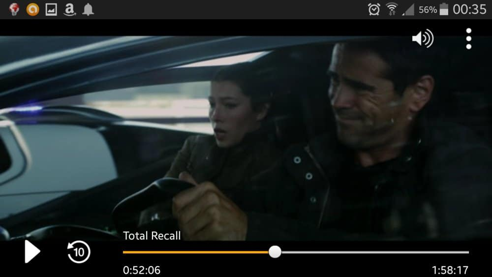 "Szene aus ""Total Recall"" in Amazon Instant Video 