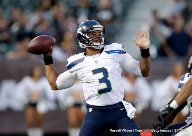 Start der regulären Saison 2014 mit den Seattle Seahawks
