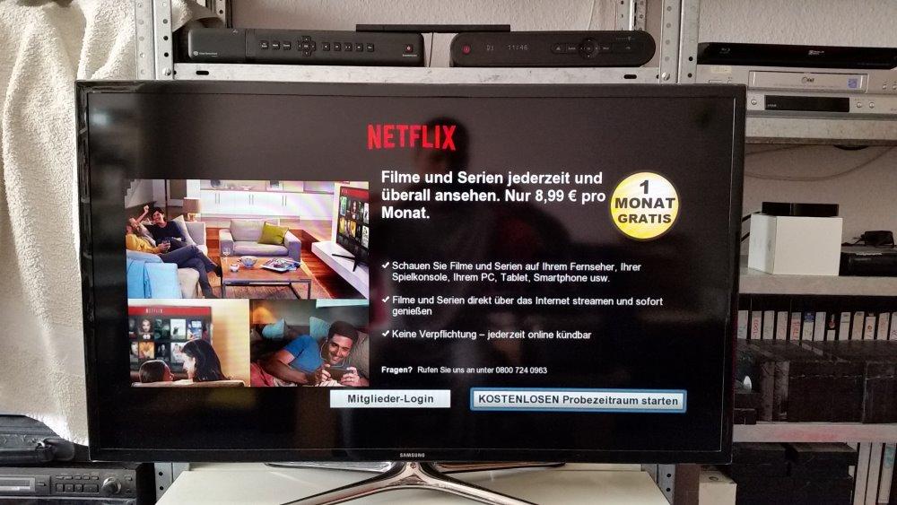 Netflix auf einem Smart TV | Foto: Redaktion