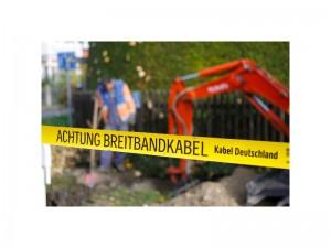 Bauarbeiten für Netzausbau | Foto: Kabel Deutschland