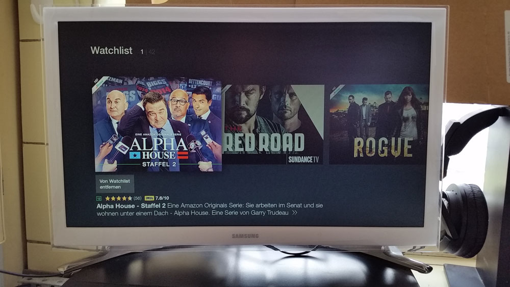 Serien bei Amazon Instant Video auf Fire TV | Foto: Redaktion