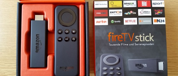 Amazon Fire TV Stick und Fernbedienung in Verpackung   Foto: Redaktion
