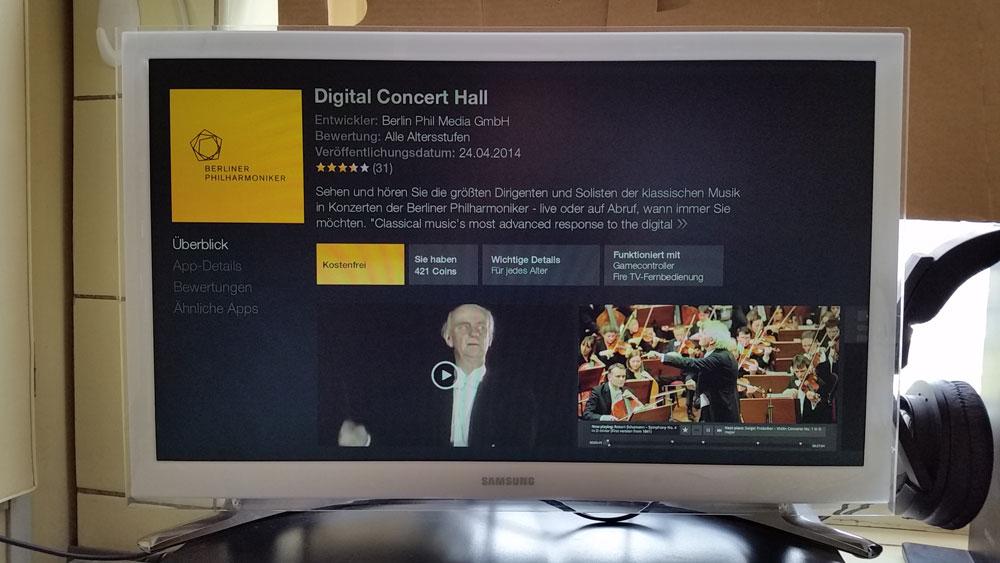 Die App der Berliner Philharmoniker | Foto: Redaktion