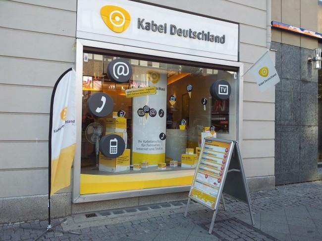 Filiale von Kabel Deutschland (Archivbild 2012) | Foto: Redaktion