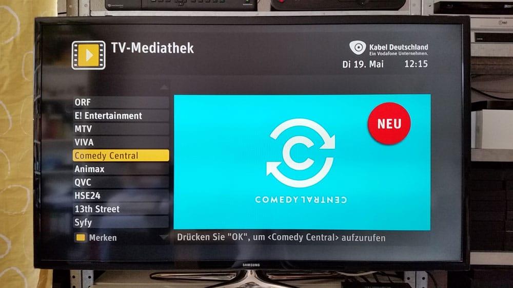 Vodafone Mediathek