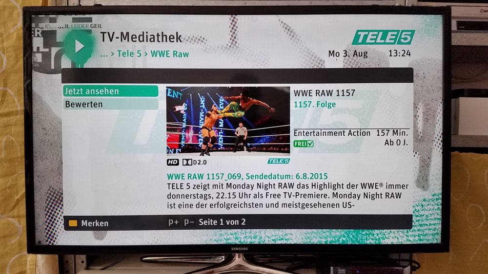 Wrestling auf Abruf | Foto: Redaktion
