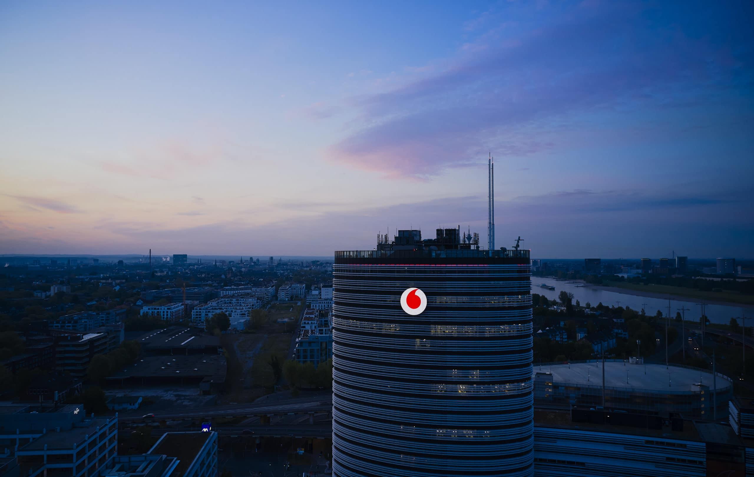 Vodafone-Deutschland-Zentrale in Düsseldorf;  Der Vodafone-Campus