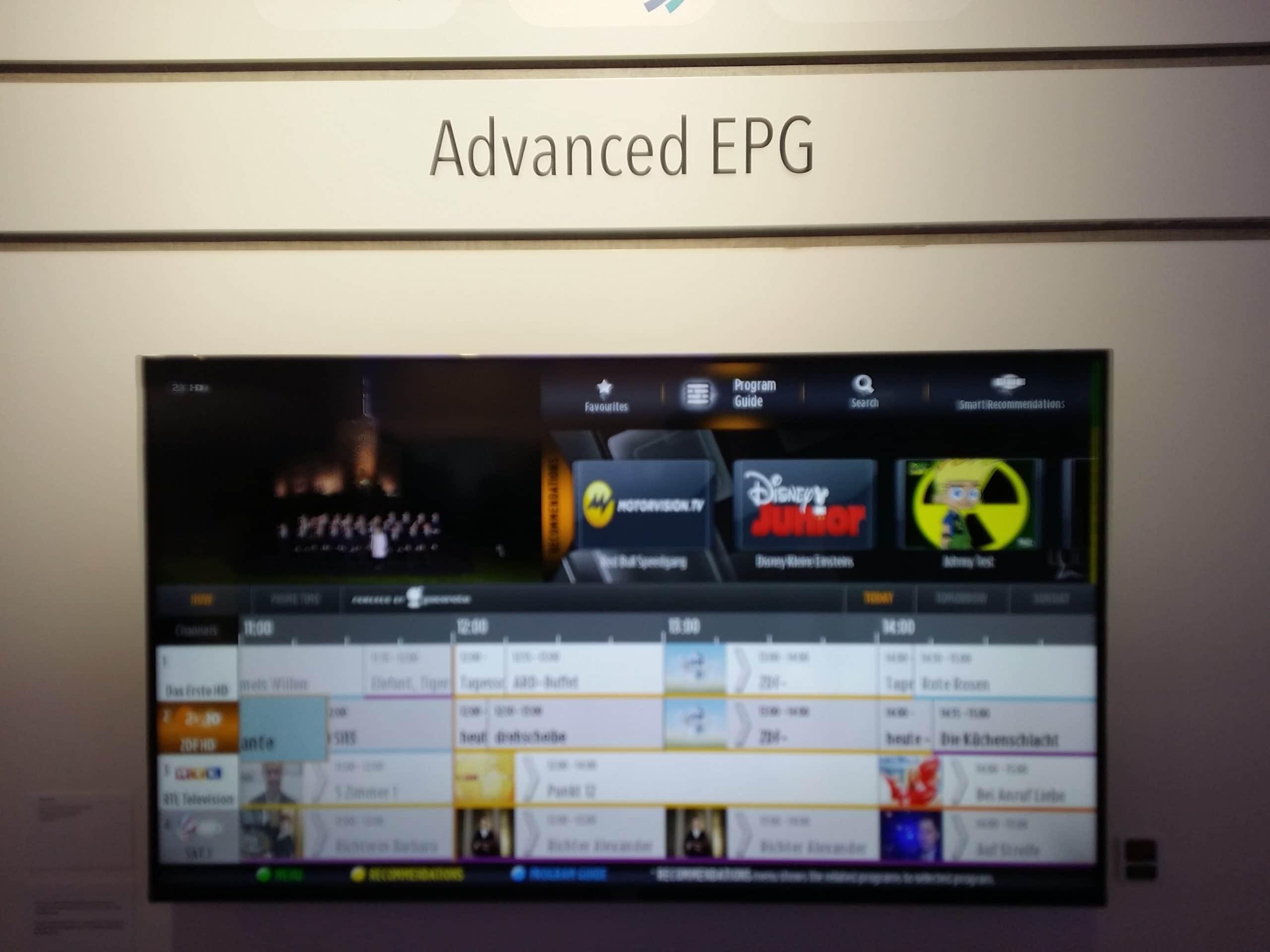 Advanced EPG