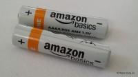 AAA Batterien von Amazon
