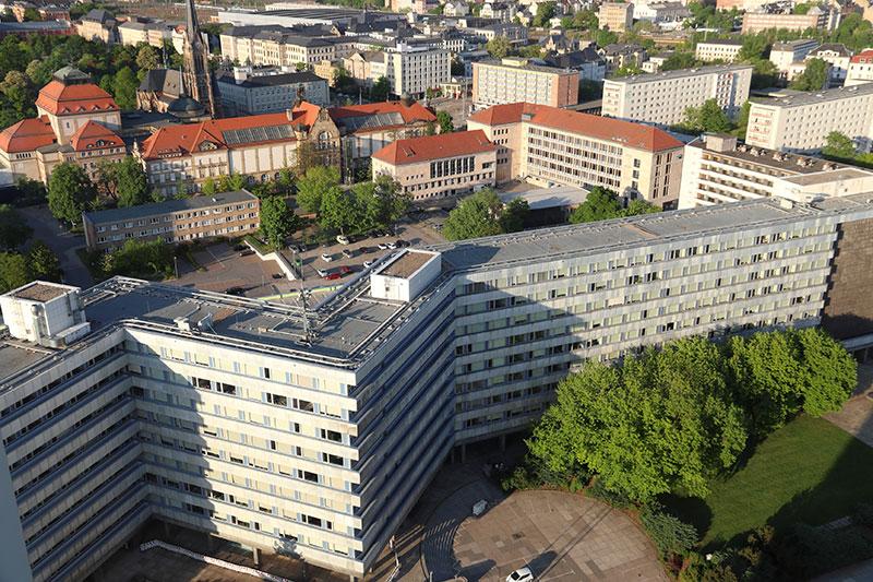 Wohnsiedlung in Chemnitz