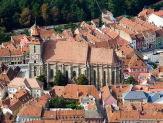 Blick auf Darmstadt