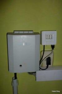 EIN DSL-Splitter der Telekom