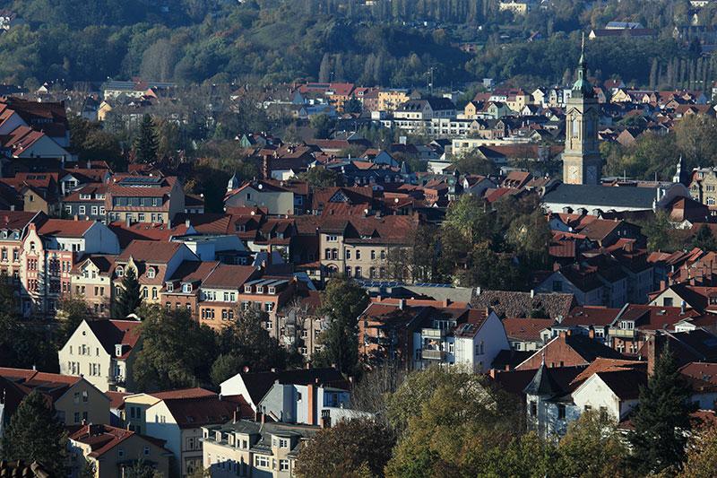 Innenstadt von Eisenach
