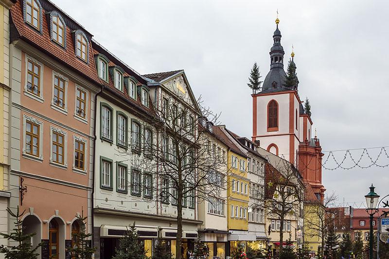 Häuser in Fulda