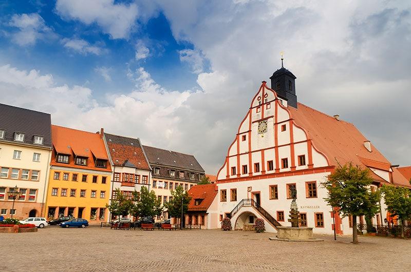 Grimma, Marktplatz