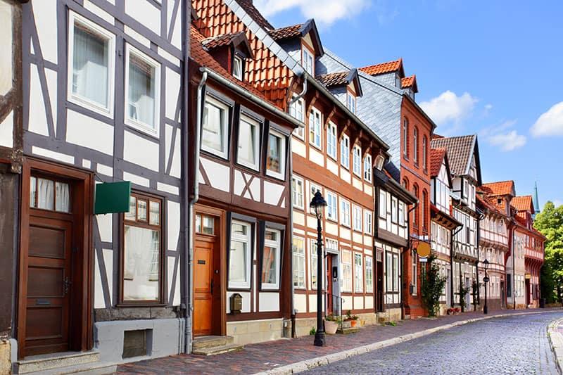 Straße in Hildesheim