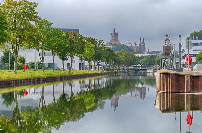 Kanal in Kleve