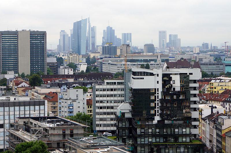 Blick über Offenbach