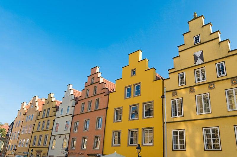 Häuser in Osnabrück
