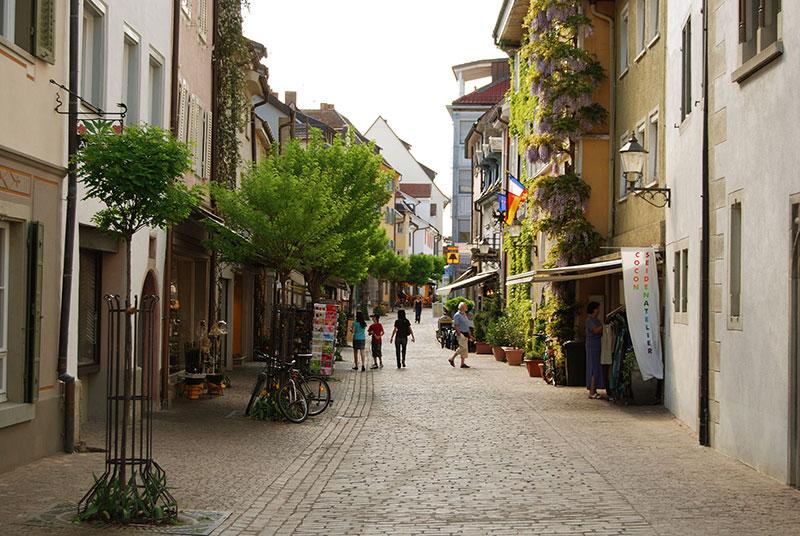 Straße in Radolfzell