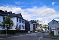 Straße in Siegen