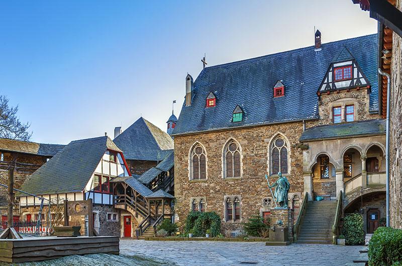 Burg an der Wupper in Solingen