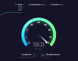 Speedtest.net - Downloadmessung