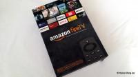 Verpackung Amazon firetv
