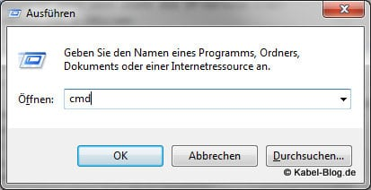 Windows Eingabeaufforderung starten