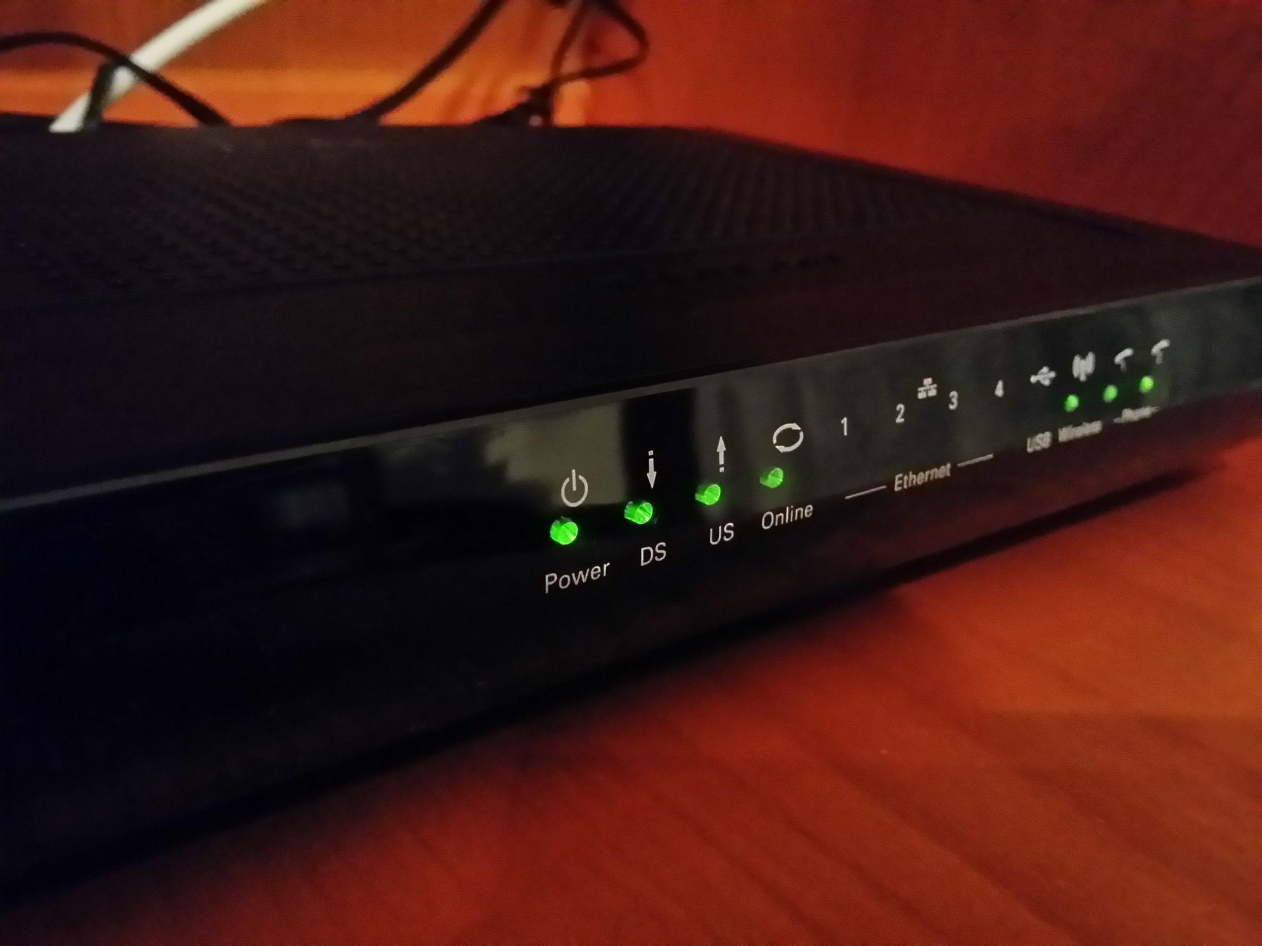 Modem und WLAN-Router