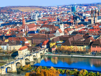 Panorama von Würzburg