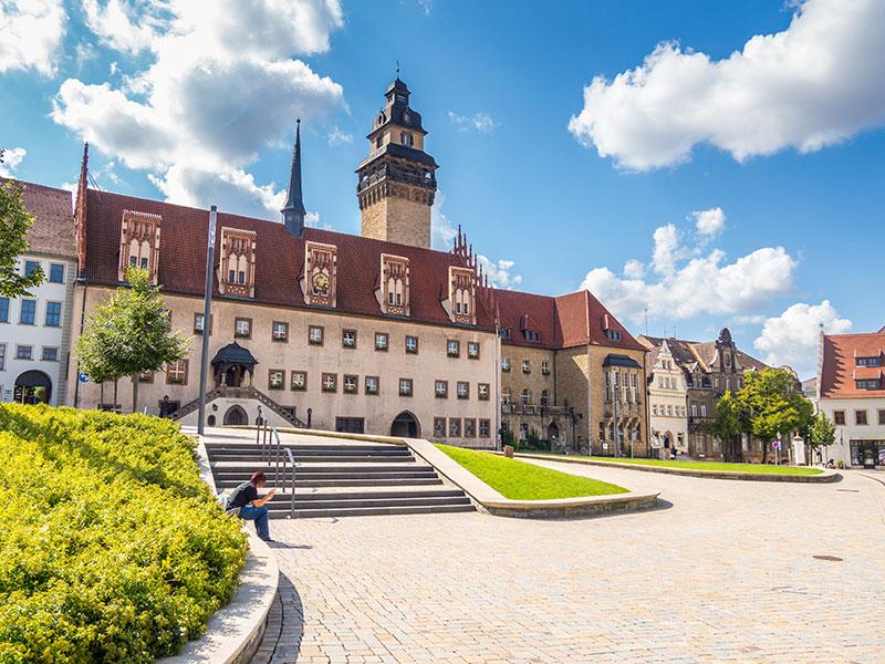 Zeitz, Rathausplatz