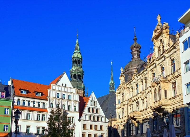 Hauptplatz in Zwickau